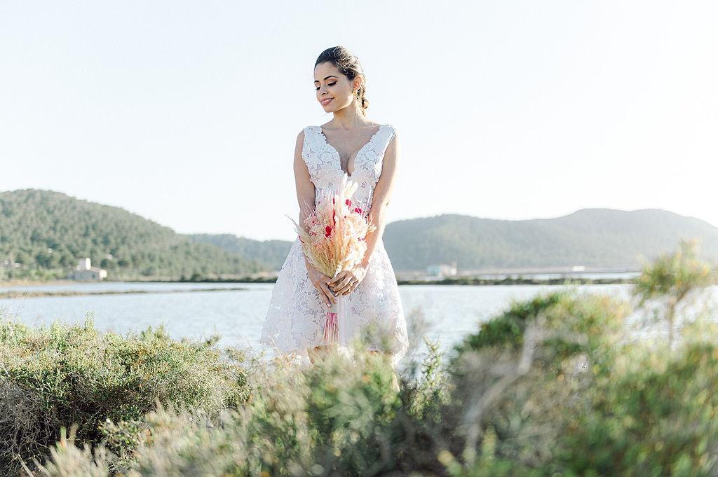 Boho Ibiza destination wedding inspiration 40