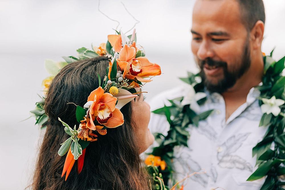 Hanalei Beach elopement 0008