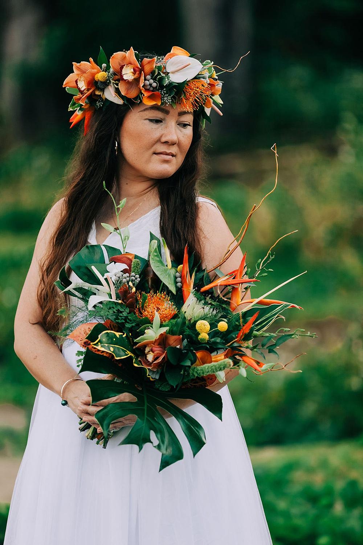 Hanalei Beach elopement 0023