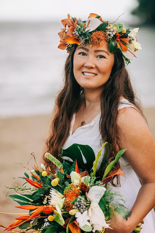 Hanalei Beach elopement 0024