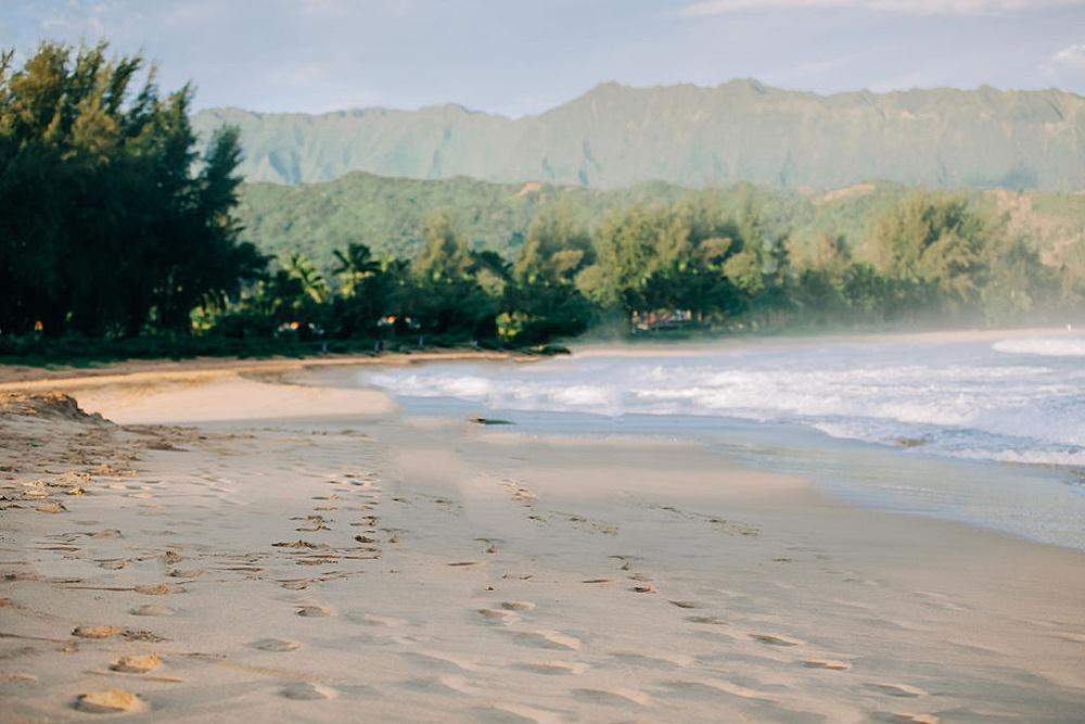 Hanalei Beach elopement 0075