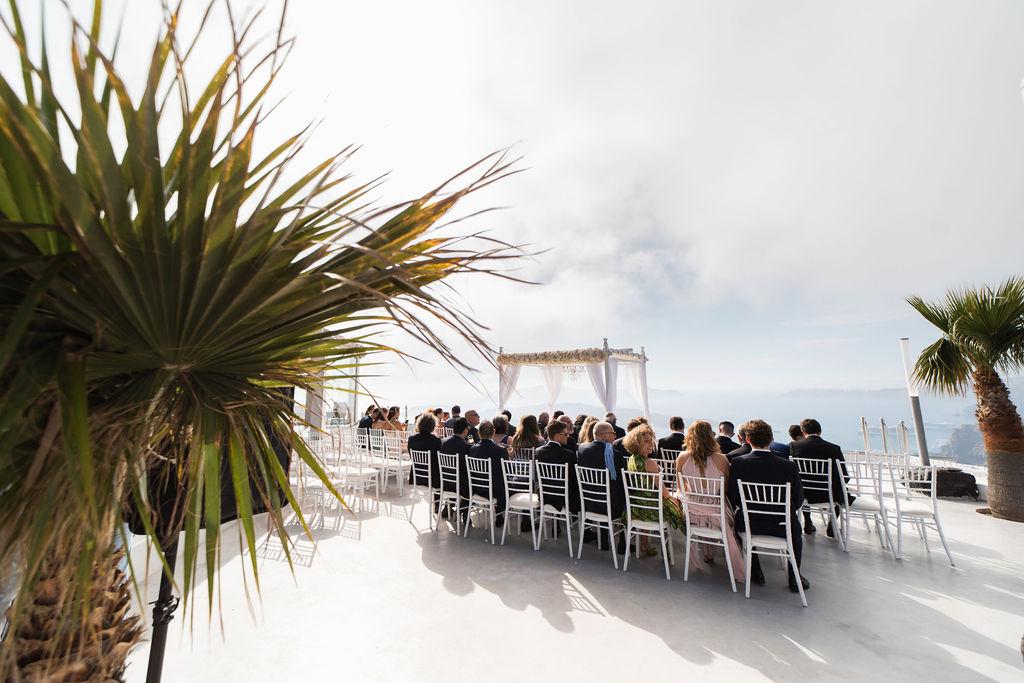 Romantic Santorini wedding 21