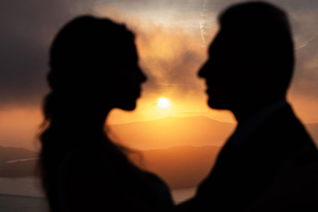 Romantic Santorini wedding 57