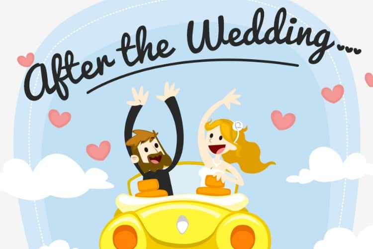 6 Mistakes to Avoid After the Wedding – Infographic