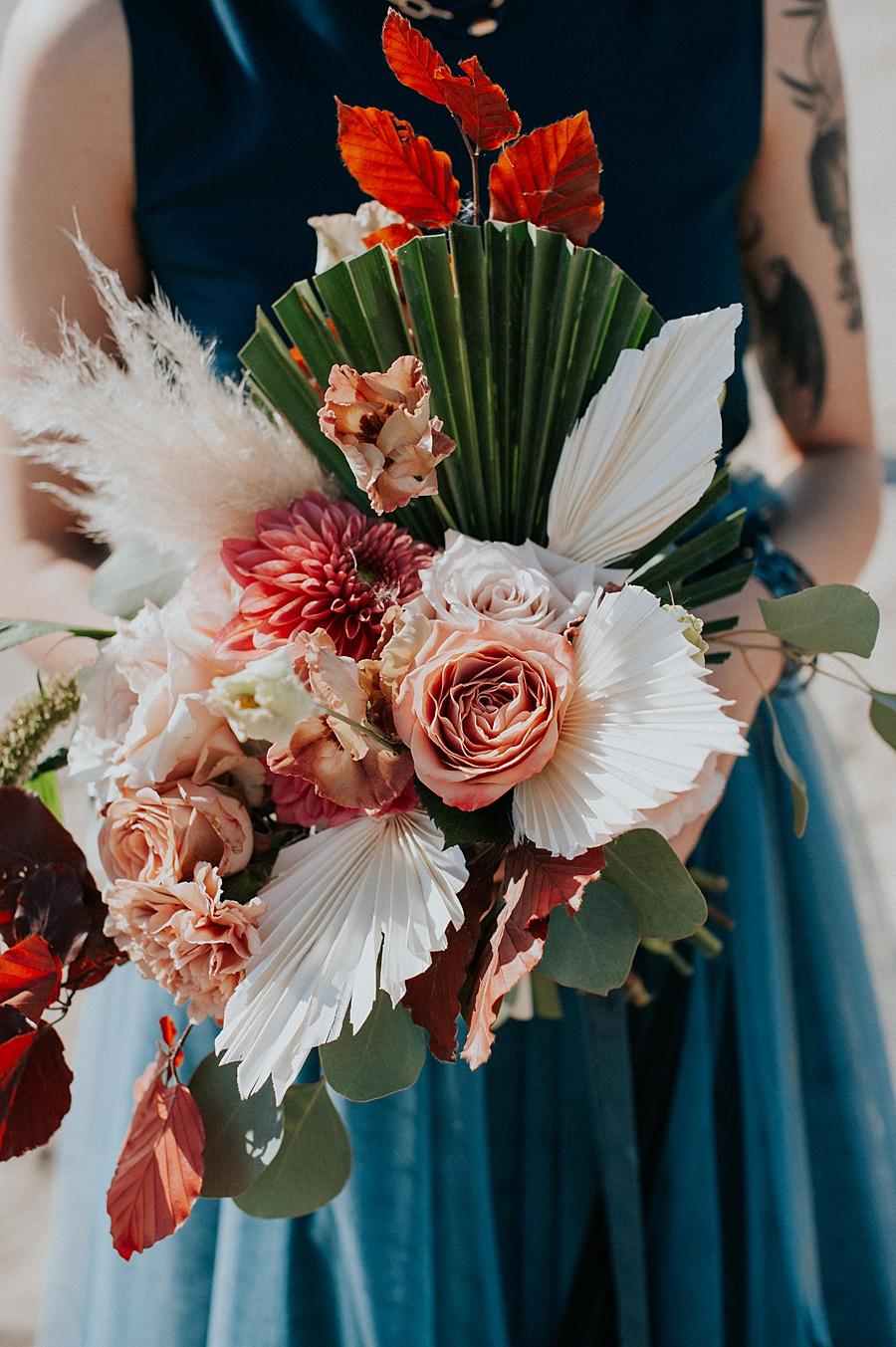 Autumn Inspired Wedding Bouquet