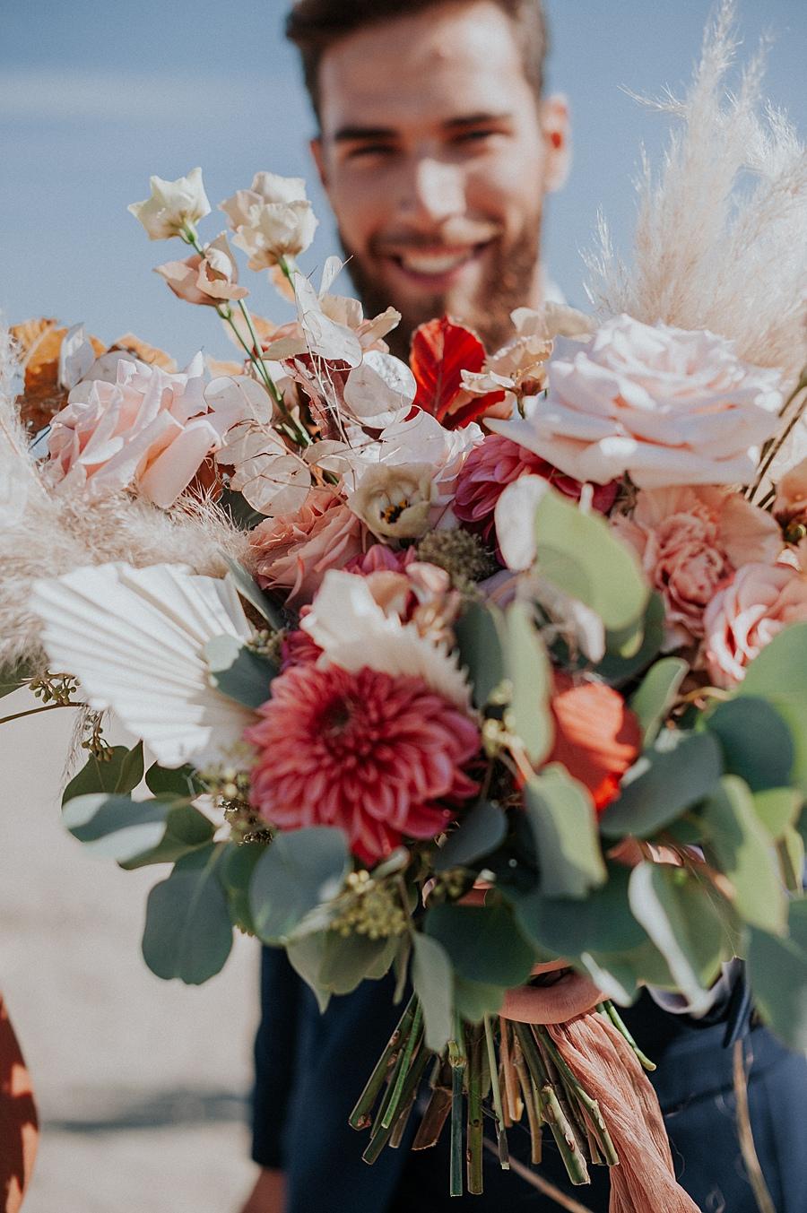 Autumn Inspired Wedding Florals