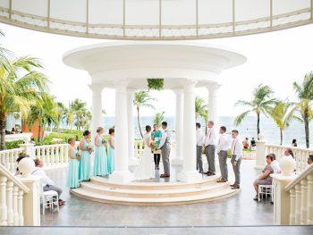 Stunning Barcelo Maya Destination Wedding
