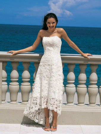 Beach Wedding Gowns Alfred Angelo Style 1774NT