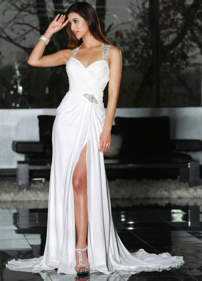 Beach Wedding Gowns Davinci style 50197