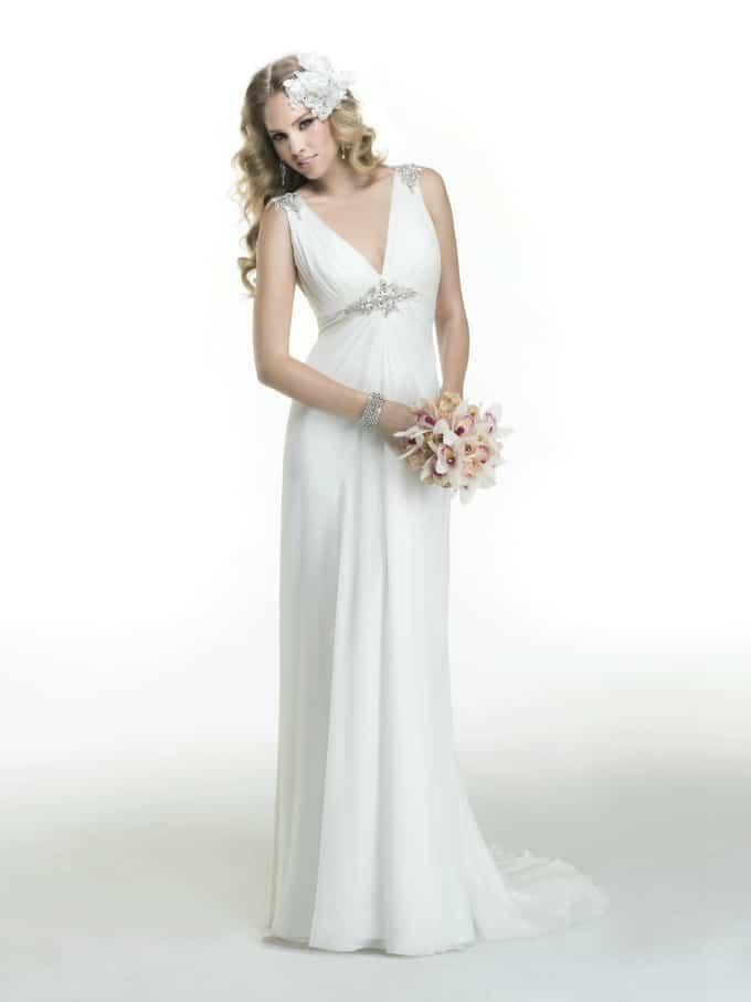 Beach Wedding Gowns Maggie Sottero Alicia