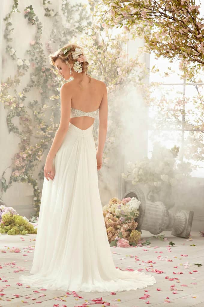 Beach Wedding Gowns - Mori Lee Voyage - style 6773 Back