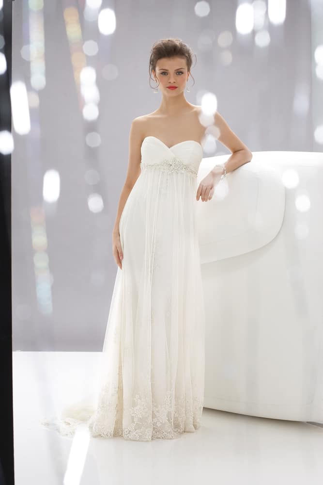 Beach Wedding Gowns Wtoo style 12360