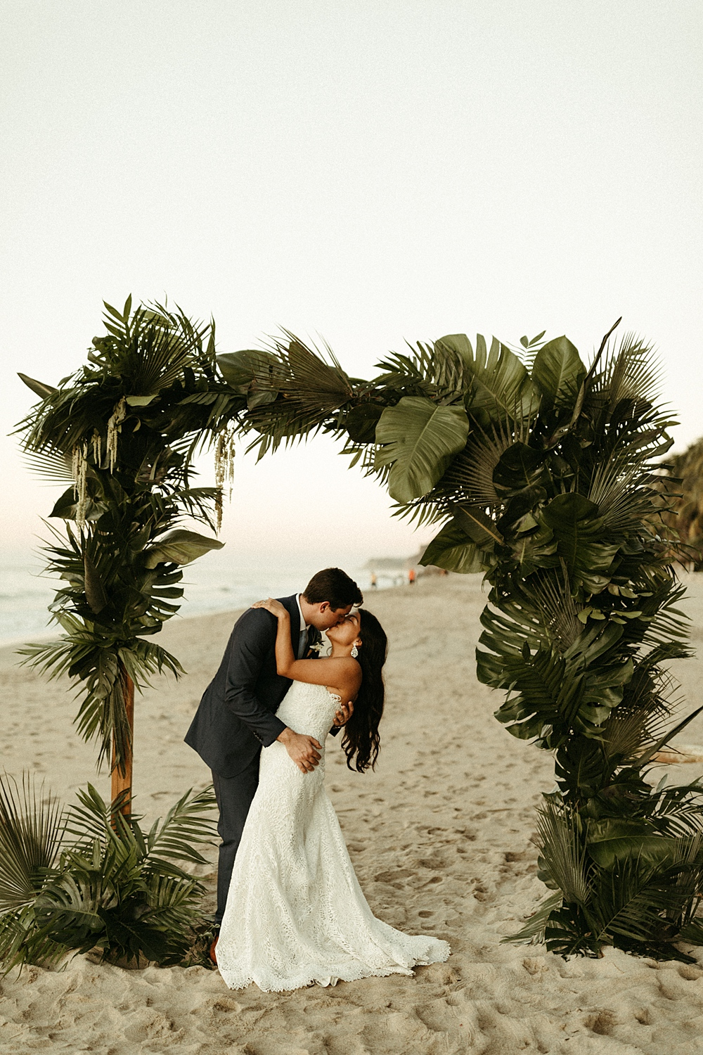 Beach Wedding Photoshoot