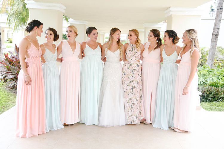 132bec69a2fc Beach Bridesmaid Dress Photos & Tips - Destination Wedding Details