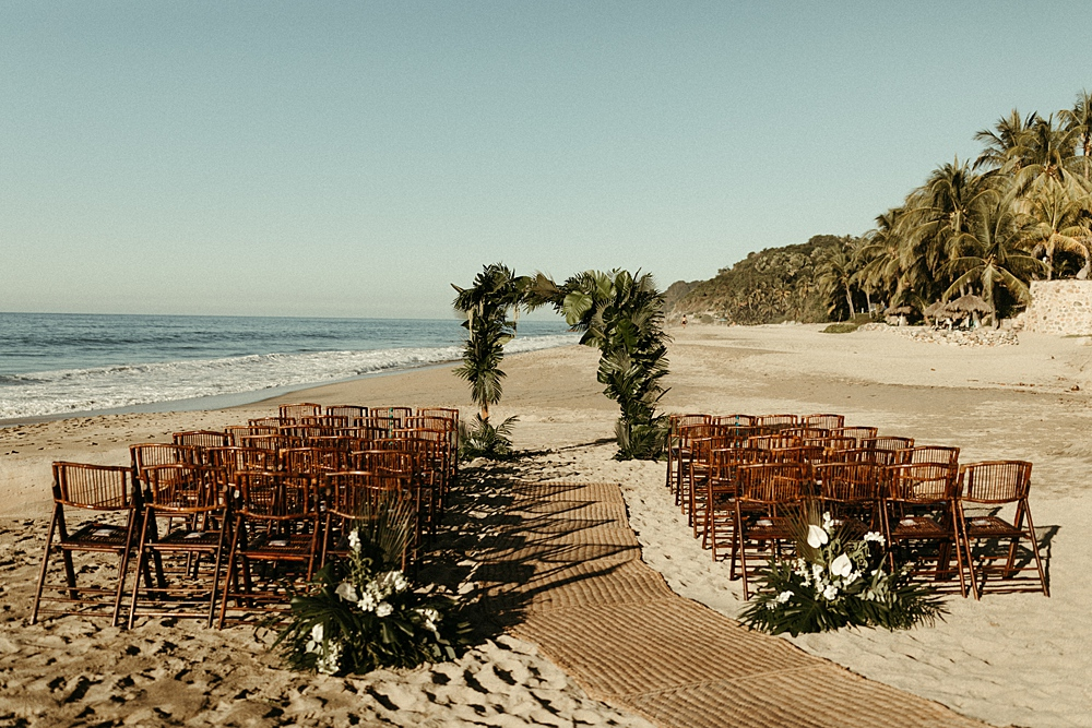 Beachfront Mexican Destination Wedding