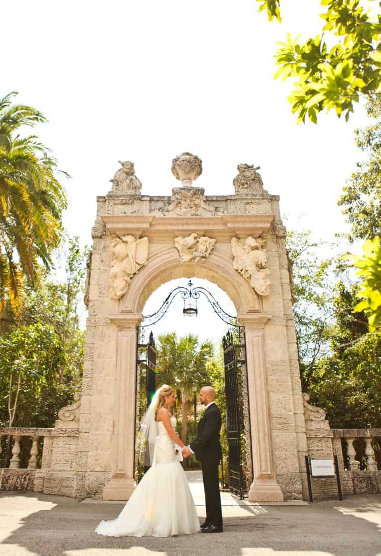Elopement at the Vizcaya Museum & Gardens