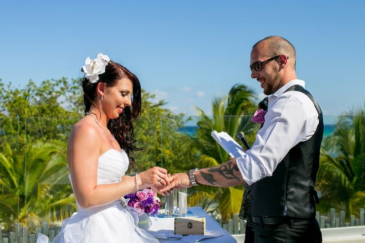 Beautiful wedding in Playa Del Carmen 001