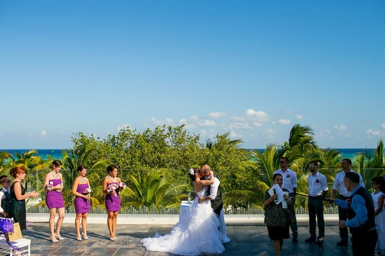 Beautiful wedding in Playa Del Carmen 002