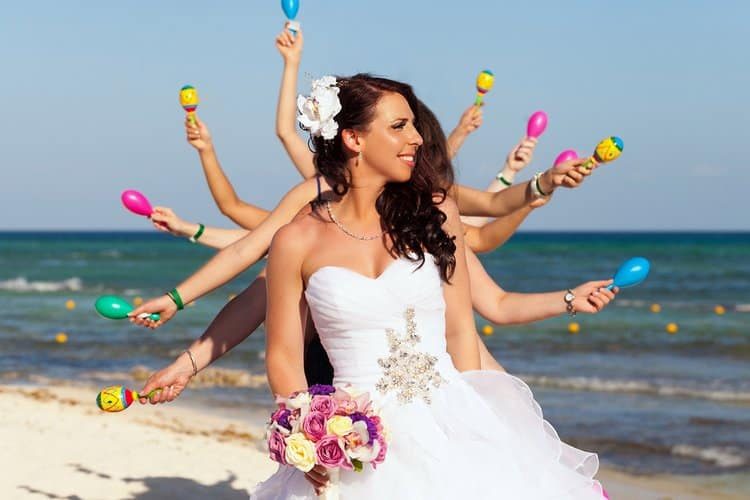 Beautiful wedding in Playa Del Carmen 009