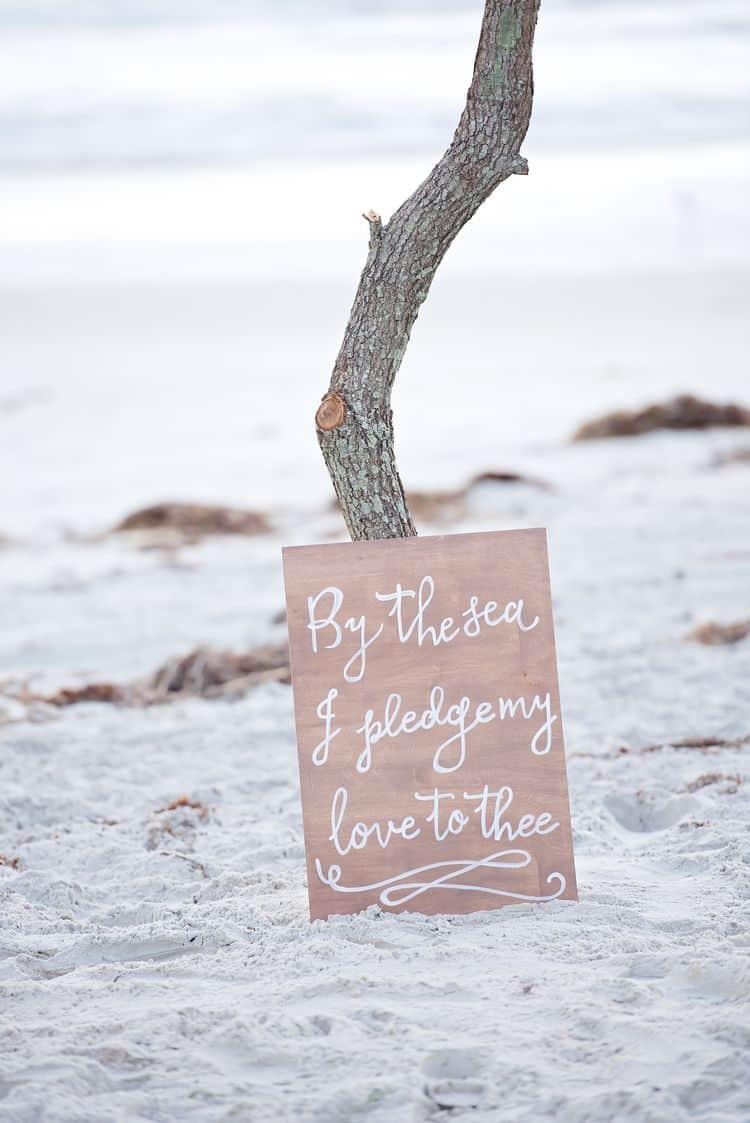 Blue Beach Wedding 12