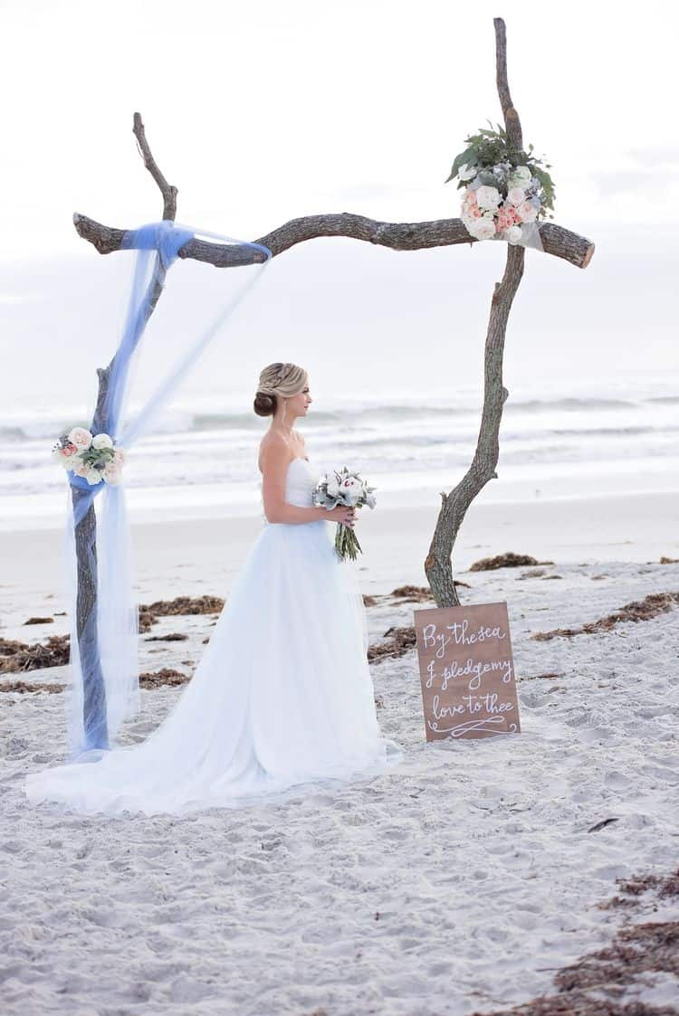 Blue Beach Wedding 16
