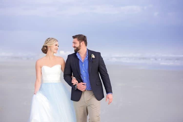 Blue Beach Wedding 23