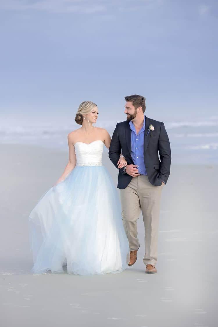 Blue Beach Wedding 24