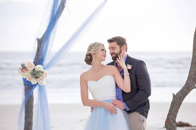 Breezy Blue Beach Wedding Inspiration