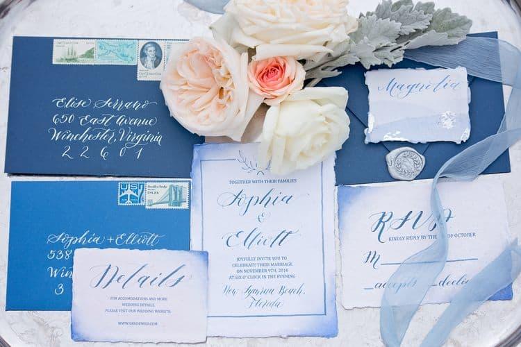 Blue Beach Wedding 37