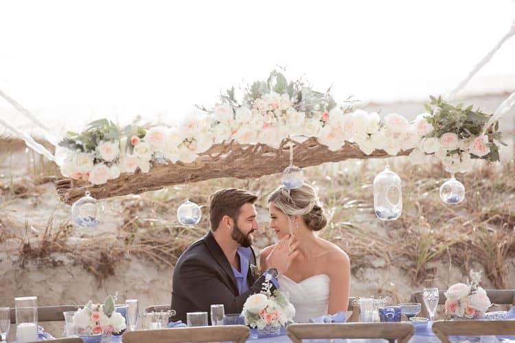 Blue Beach Wedding 4