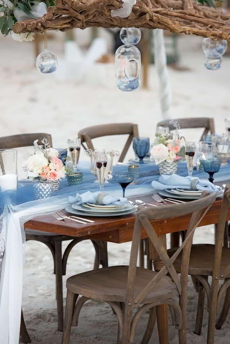 Blue Beach Wedding 43