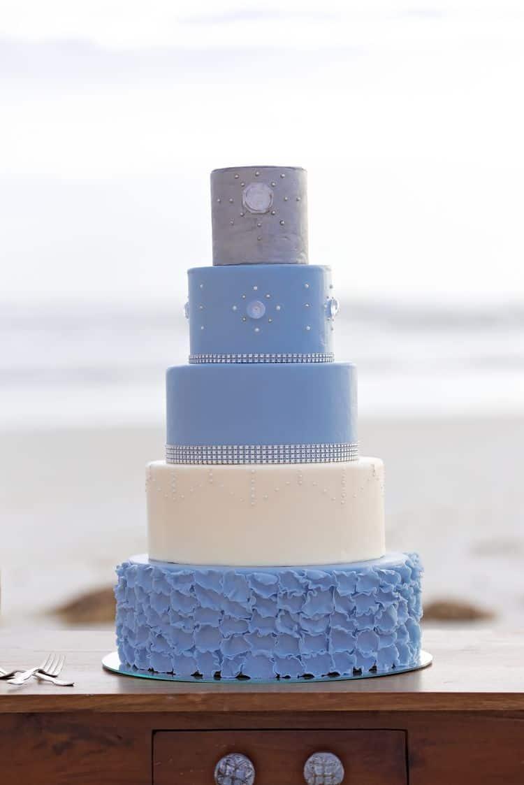 Blue Beach Wedding 46