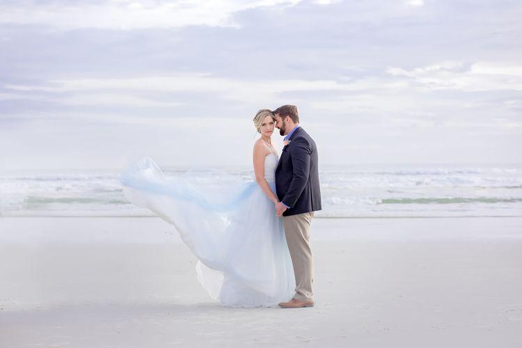 Blue Beach Wedding 53 1