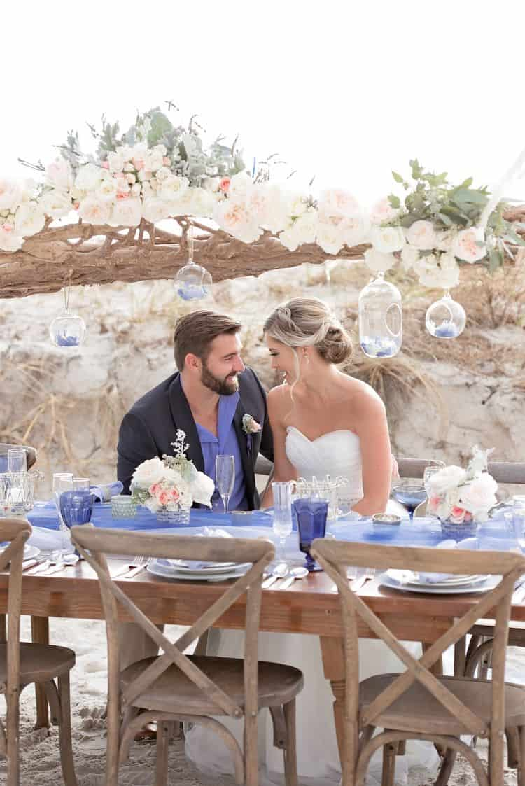 Blue Beach Wedding 56
