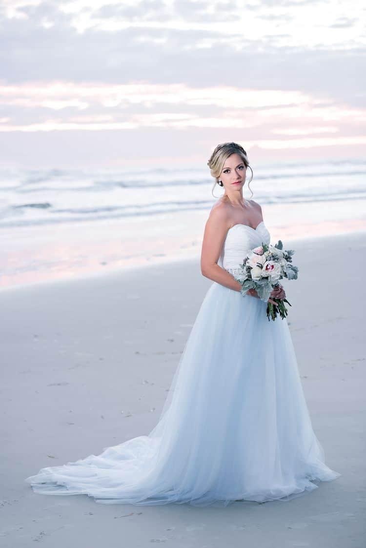 Blue Beach Wedding 58