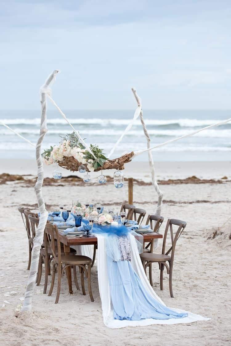 Blue Beach Wedding 59