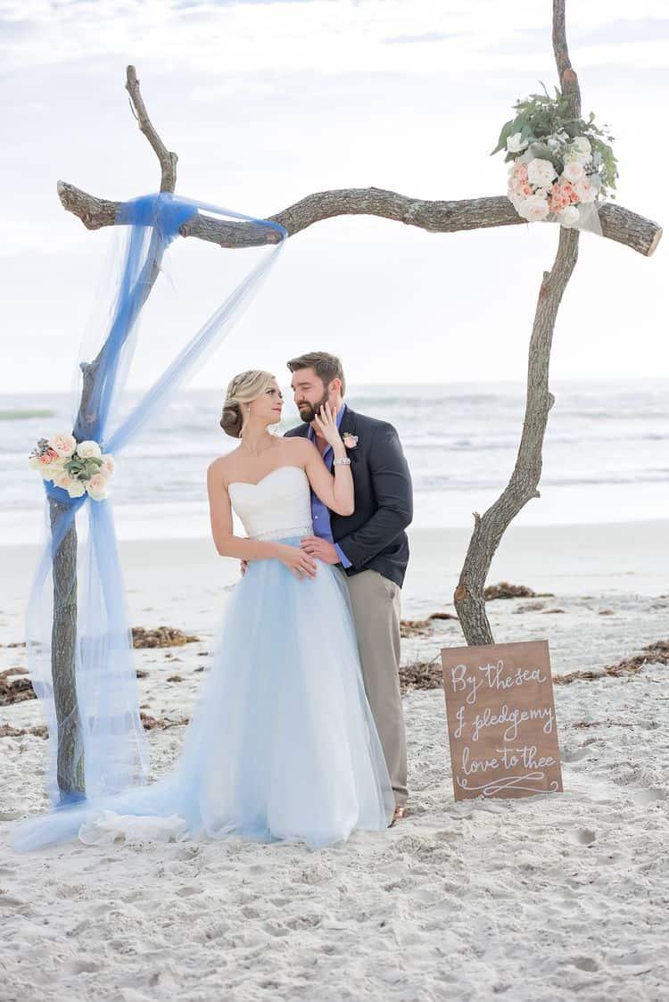 Blue Beach Wedding 81