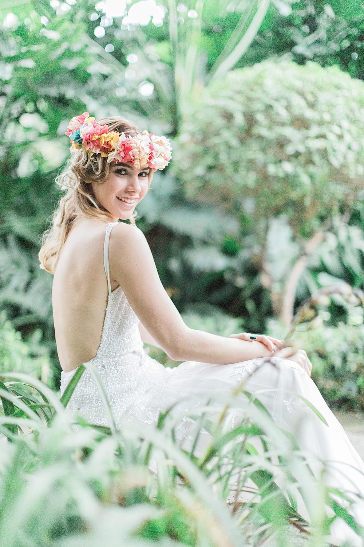 Botanical Garden Destination Wedding
