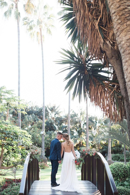 Botanical Wedding Ceremony