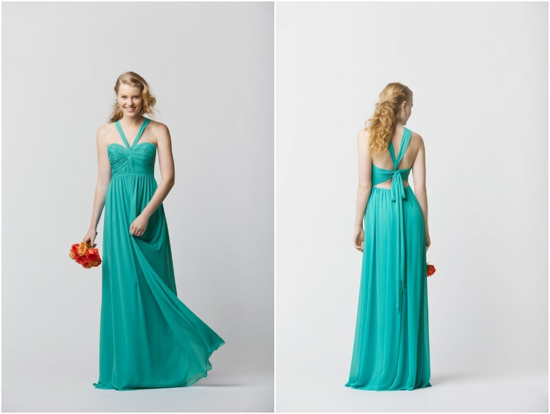 Bridesmaid Destination Wedding Dresses 13