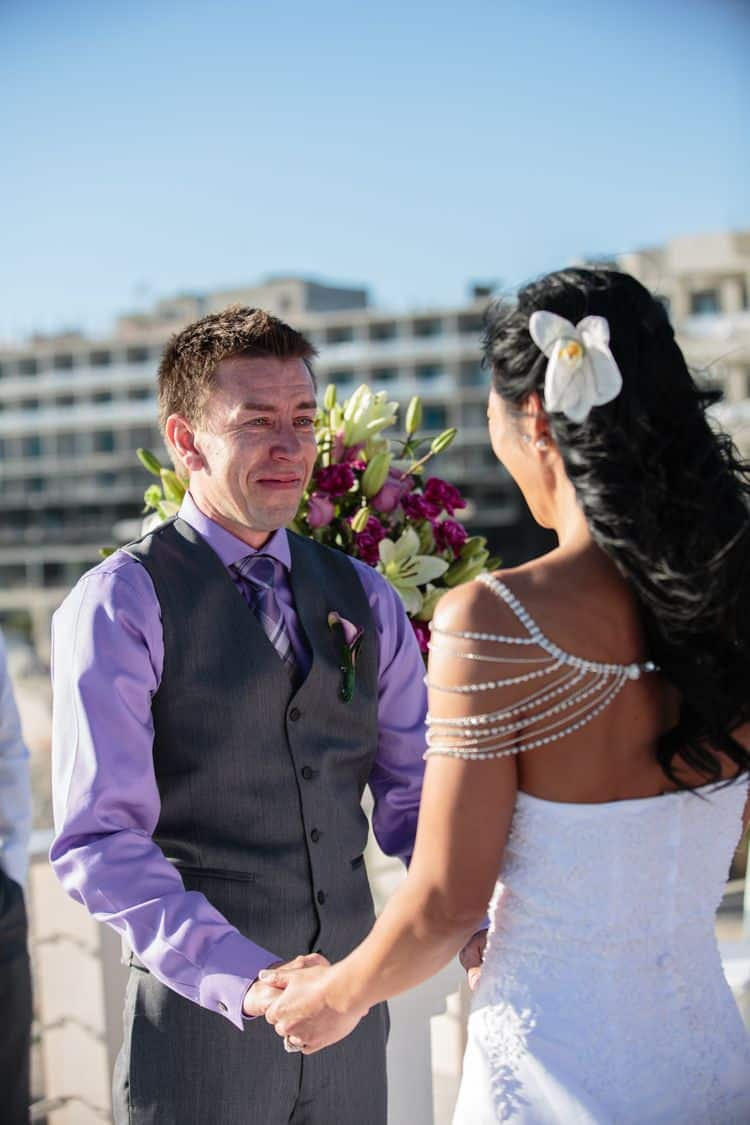 Wedding at Sunset Da Mona Lisa