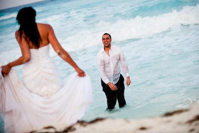 Cancun Trash the dress 029