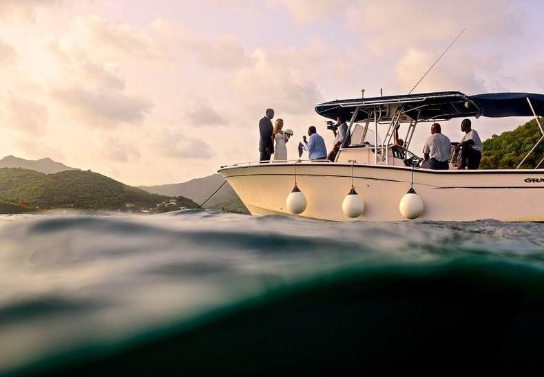 Carlisle Bay Antigua boat