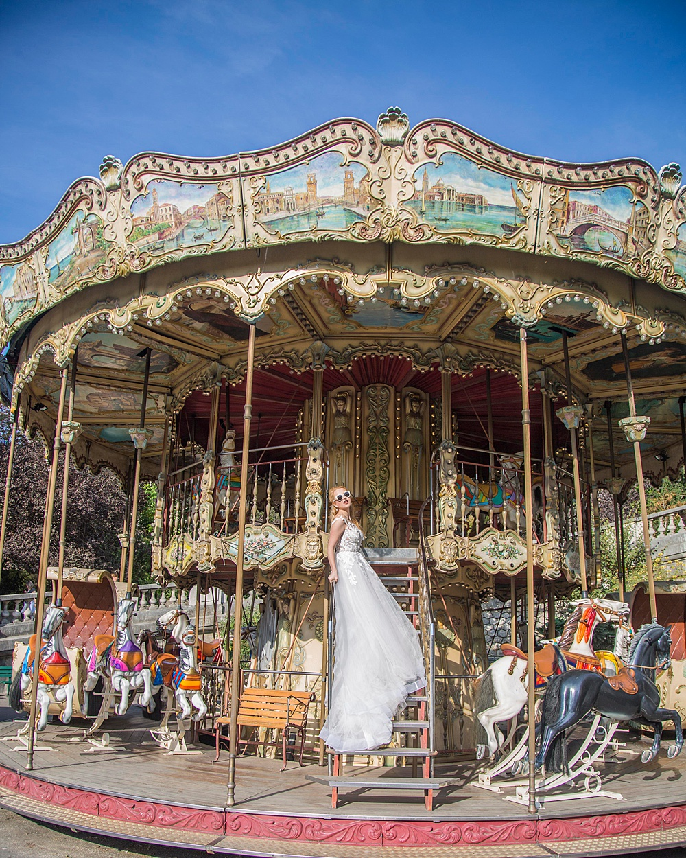 Carousel Paris Montmarte Wedding Inspiration