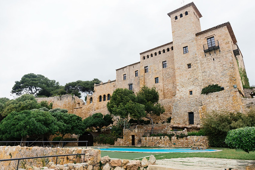 Castle Wedding in Spain 0002