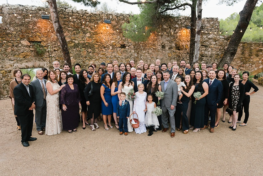Castle Wedding in Spain 0088