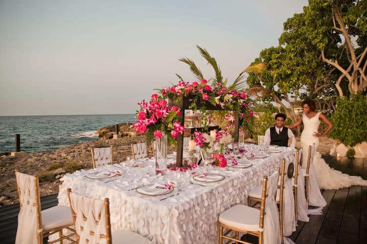 Cliffside Jamaica Wedding 20
