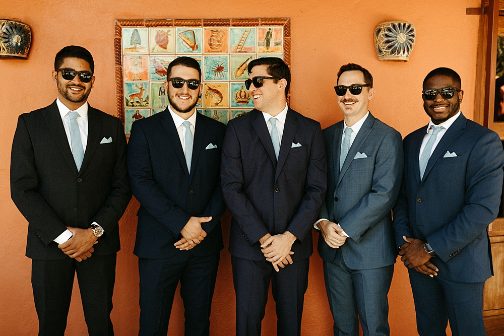 Cool Destination Wedding Groomsmen
