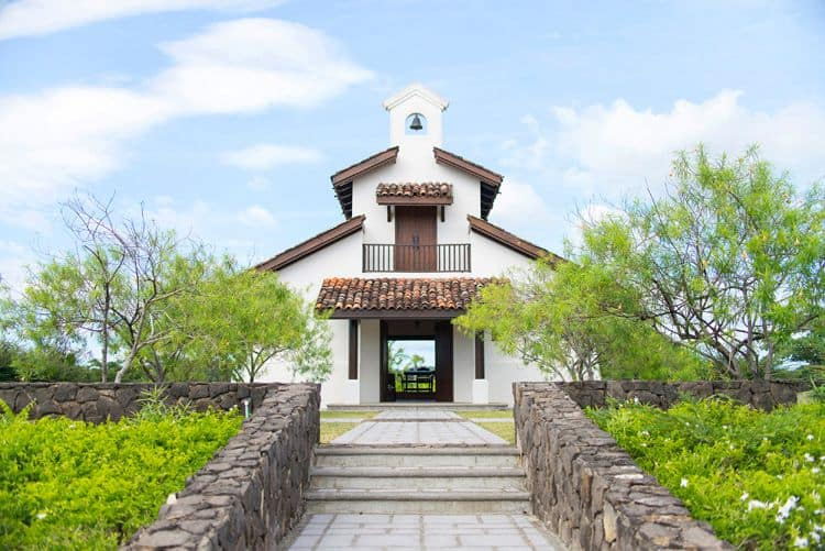 Costa Rica Wedding chapel