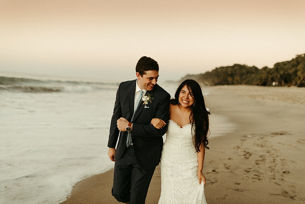 Destination Wedding Beach Photo